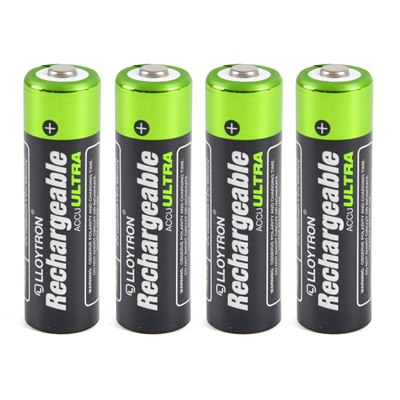 Lloytron 4Pk NIMH AccuUltra Battery - AA 2700mAh