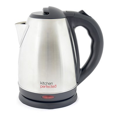 KitchenPerfected 1.7Ltr 360 Cordless Kettle - Brushed Steel