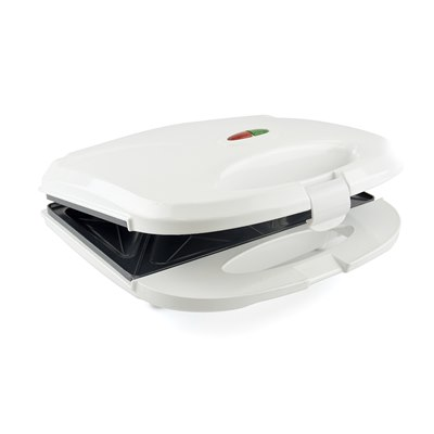 KitchenPerfected 2 Slice Sandwich & Omelette Maker - White