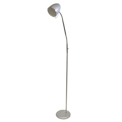 7w LED 'Santa Maria' Reading Floor Lamp - Silver
