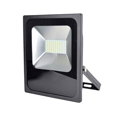 RapidResponse 50w Slimline LED Floodlight with 1m Cable