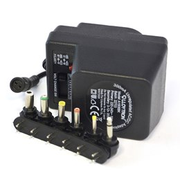 A1506BK 300mA Unregulated AC/DC Multi-Voltage Adaptor