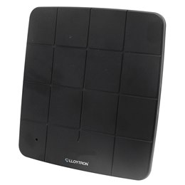 A3202BK Active HD Indoor Panel TV Antenna - 50db - Black