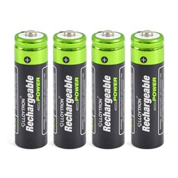 B011 4Pk NIMH AccuPower Battery - AA 800mAh