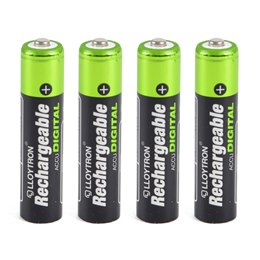 B015 4Pk NIMH AccuDigital Battery - AAA 900mAh