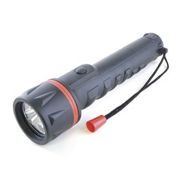 D2223 HomeLife 3D Rubber LED Torch