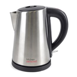 E1103BS KitchenPerfected 1.0Ltr 360 Cordless Kettle - Brushed Steel