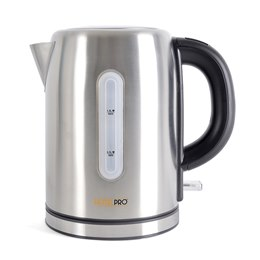 E1106BS HotelPro 2.2Kw 1.0Ltr Cordless Kettle - Brushed Steel