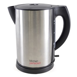 E1516BS KitchenPerfected 1.7Ltr Cordless Kettle - Brushed Steel