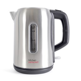 E1518BS KitchenPerfected 2.2Kw 1.7Ltr Cordless Kettle - Brushed Steel