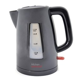 E1522BK KitchenPerfected 1.7Ltr 360 Premium Cordless Kettle - Black