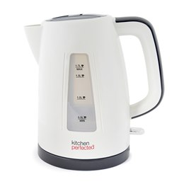 E1522WI KitchenPerfected 1.7Ltr 360 Premium Cordless Kettle - Ivory White
