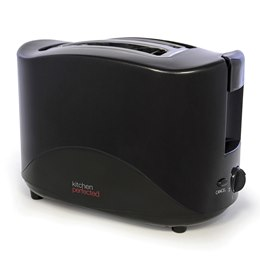 E2012BK KitchenPerfected 2 Slice Toaster - Black