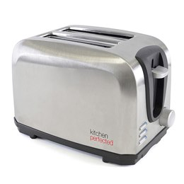 E2019BS KitchenPerfected 2 Slice Toaster - Brushed Steel