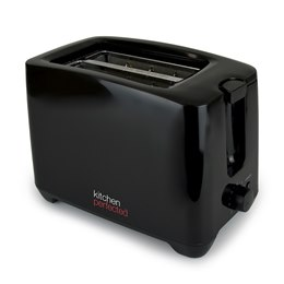 E2020BK KitchenPerfected 2 Slice extra-wide slot Toaster - Black