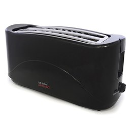 E2112BK KitchenPerfected 4 Slice Toaster - Black