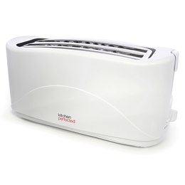 E2112WH KitchenPerfected 4 Slice Toaster - White