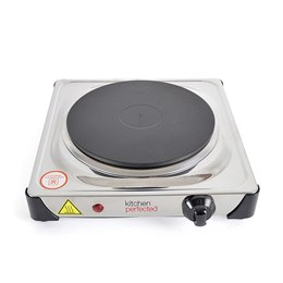 E4103SS KitchenPerfected 1500w Single Hotplate - Stainless Steel