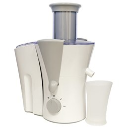 E5206WH KitchenPerfected 800w 0.5Ltr Full Fruit Juice Extractor - White