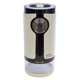 E5607WI KitchenPerfected 180w 60g Coffee Bean Grinder - Ivory White