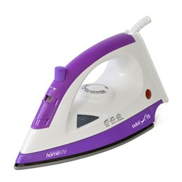 E7305 HomeLife 'Tidal X-15' 1200w Steam Iron - Non-Stick Soleplate