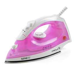 E7306 HomeLife 'Crest X-15' 1600w Steam Iron - Stainless Steel Soleplate