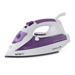 E7728 HomeLife 'Typhoon X-18' 2200w Steam Iron - Ceramic Soleplate
