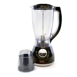 E824BK KitchenPerfected 500w 2Ltr Table Blender with Mill - Black