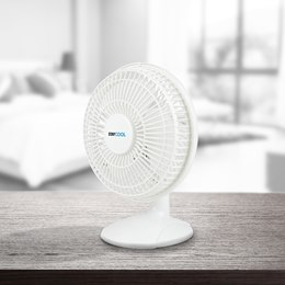 F1005WH STAYCOOL 6'' (15cm) 2in1 Desk/Clip Fan