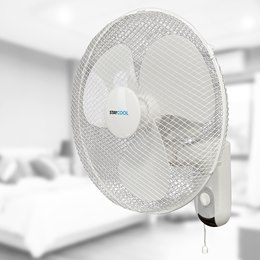 F1421WH 'STAY COOL' 16'' (40cm) Wall Fan - White