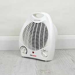 F2001WH STAYWARM 2000w Upright Fan Heater (BEAB) - White