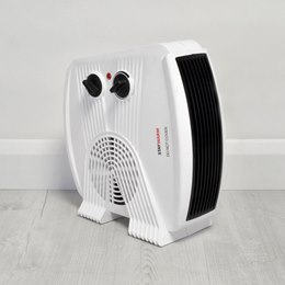 F2035WH STAYWARM 3000w Upright / Flatbed Fan Heater (BEAB) - White