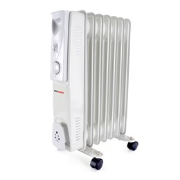 F2602GR STAYWARM 1500w 7 Fin Oil Radiator - Grey