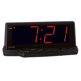 J102 Lloytron ''Prelude'' 1.8'' Jumbo Red Led Alarm Clock