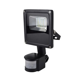 L8511DP RapidResponse 10w Slimline LED Floodlight with PIR & 1m Cable