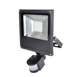 L8512DP RapidResponse 20w Slimline LED Floodlight with PIR & 1m Cable