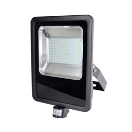L8517DP RapidResponse 150w Slimline LED Floodlight with PIR & 1m Cable