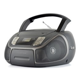 N8204BK-A Lloytron Portable Stereo CD Radio with Bluetooth - Black